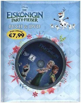 Disney Die Eiskönigin - Party-Fieber, m. DVD von Walt Disney (Buch) NEU