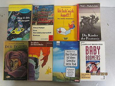 112 Bücher Taschenbücher verschiedene Verlage