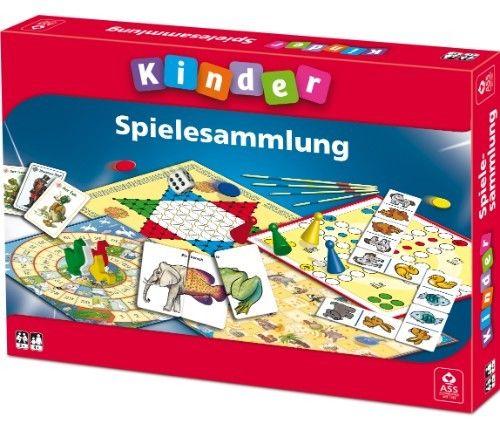 LOT 25708 | ASS Kinder Spielesammlung  9 Spiele Gänsespiel Halma Mikado NEU OVP
