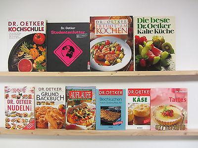 61 Bücher Kochbücher Dr. Oetker Kochbücher nationale und internationale Küche