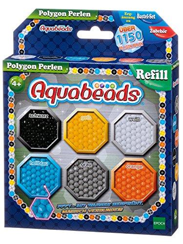 Aquabeads 30049 - Polygon Perlen, Bastelperlen