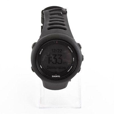 Suunto Ambit3 Sport GPS Armbanduhr schwarz