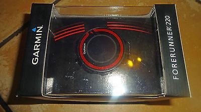 Garmin forerunner 220, GPS-Uhr, black-red, in Originalverpackung