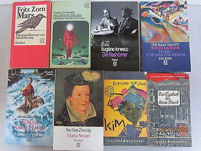 125 Bücher Taschenbücher Fischer Verlag