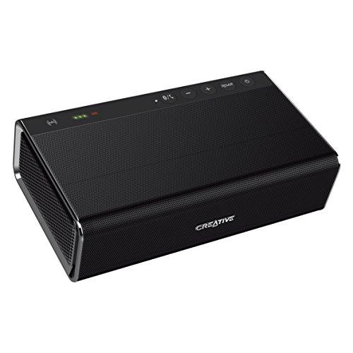 Creative Sound Blaster Roar Pro tragbarer Bluetooth-Lautsprecher (NFC-Funktion, AAC, aptX, 5 Treiber, integrierter Subwoofer) schwarz
