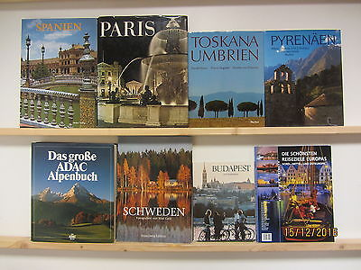 22 Bücher Bildbände Europa europäische Länder europäische Städte  Paket 1