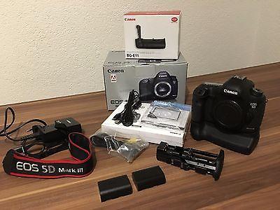 Canon EOS 5D Mark III 22.3MP Gehäuse-Batteriegriff