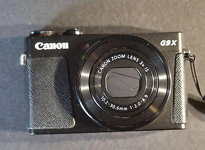 Canon Powershot G9 X 20.2 MP Digitalkamera schwarz! 14 Monate Restgarantie