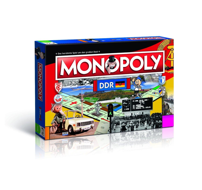 Monopoly DDR Spiel Gesellschaftsspiel Brettspiel exklusive Neuerscheinung NEU