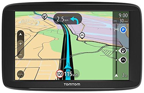 TomTom Start 62 Europe Traffic Navigationsgerät (15 cm (6 Zoll), Lifetime Maps, Fahrspurassistent, 3 Monate Radarkameras (auf Wunsch), Karten von 48 Ländern Europas) schwarz