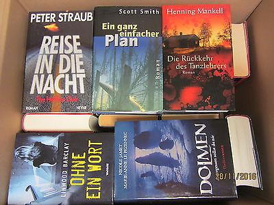 36 Bücher Krimi Thriller Psychothriller Top Titel Bestseller Paket 1