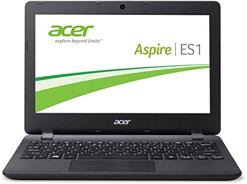 Acer Aspire ES1-131-C8YK 29,5 cm (11,6 Zoll HD) Notebook (Intel Celeron N3050, 2GB RAM, 32GB eMMC, Intel HD Grapics, Windows 10 Home) schwarz