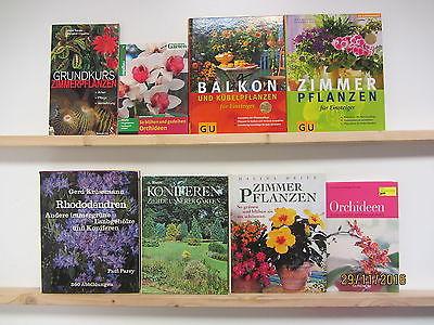 41 Bücher Bildbände Blumen Pflanzen Zimmerpflanzen Pflanzenpflege Grünpflanzen