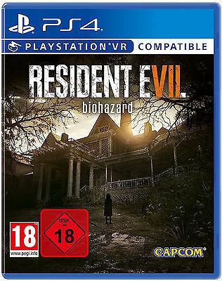 Resident Evil 7: Biohazard | PS4 | NEU & OVP | UNCUT | Vorbestellung