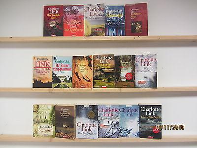Charlotte Link 17 Bücher Romane Kriminalromane historische Romane Taschenbücher