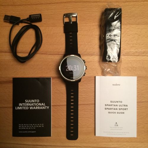 Suunto Spartan Sport Black HR GPS Uhr