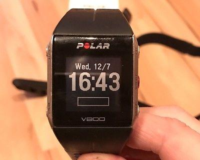 Polar V800 in schwarz/silber