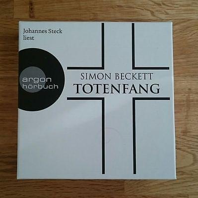 TOTENFANG von Simon Beckett - Hörbuch (2016) - Neuwertig!
