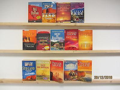 Patricia Shaw 14 Bücher Romane historische Romane Liebesromane Schicksalsromane