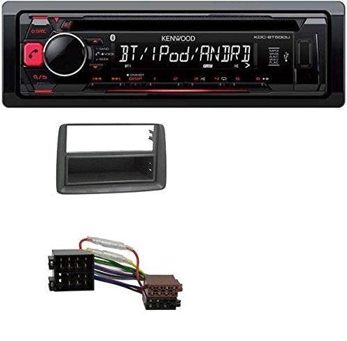 Kenwood KDC-BT500U CD MP3 USB Bluetooth AUX Autoradio für Fiat Panda (169) (ab 2003)