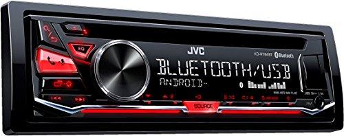 JVC KD-R784BT USB/CD-Receiver mit Bluetooth inklusiv A2DP schwarz
