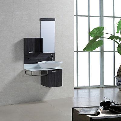 Badmöbel Set Badezimmermöbel Waschbecken Waschtisch Unterschrank Badspiegel