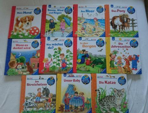 11 Bücher Set wieso weshalb warum junior