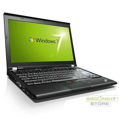 Lenovo ThinkPad X220 Notebook Intel Core i5 2x 2,5 GHz 4 GB RAM 320 GB HDD Win 7