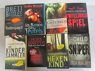 59  Bücher Taschenbücher Krimi Thriller Psychothriller Top Titel Bestseller