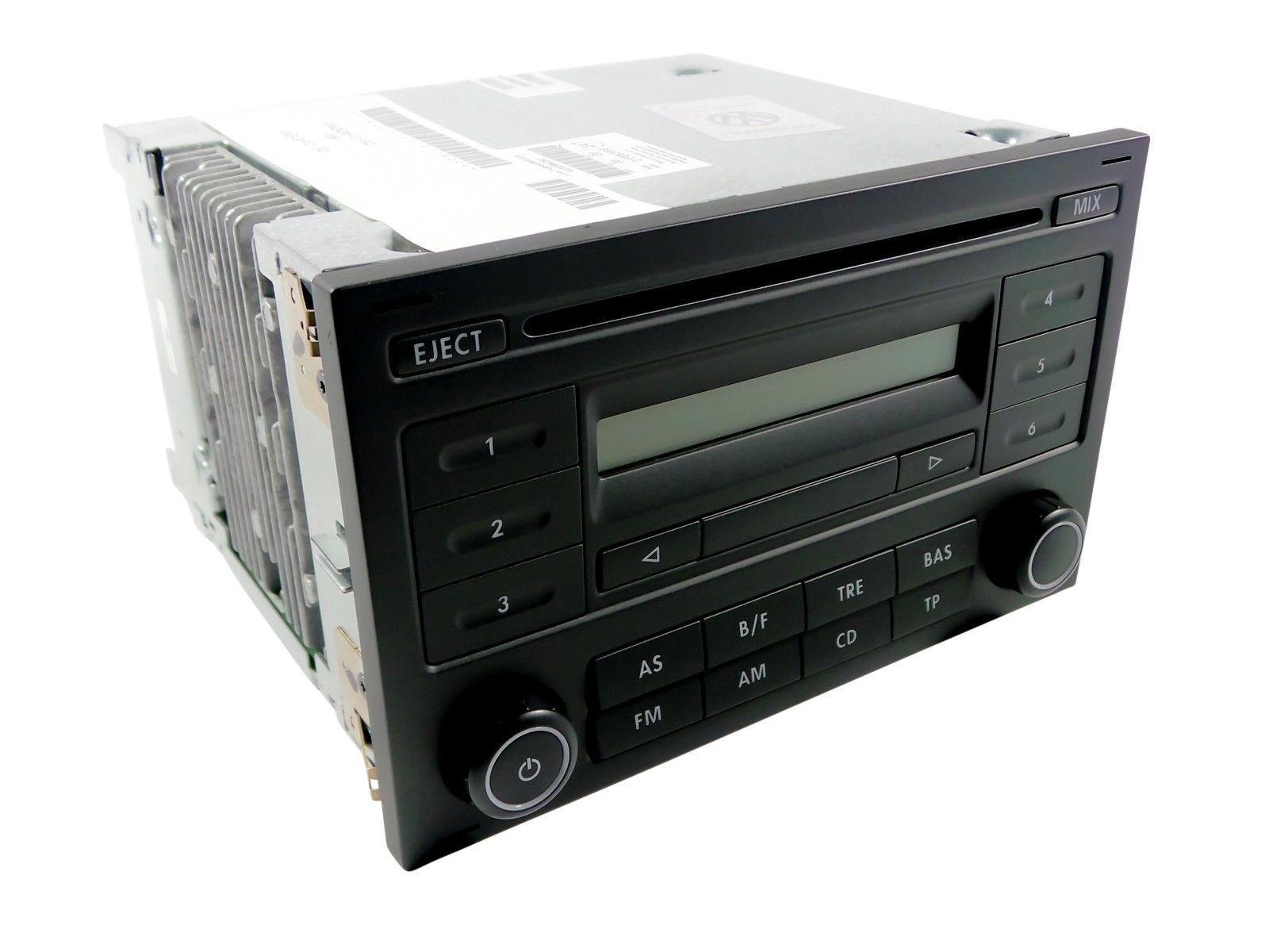 VW Polo 9N 9N3 Golf IV Sharan Passat 3BG T4 Autoradio CD Radio RCD 200 Neu/OVP