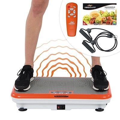 Vibro Shaper Vibrationsplatte Ganzkörper Trainingsgerät Trainingsplan Mediashop