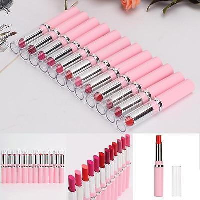 12 Farben Make up Pen Matt Damen Lippenstift wasserdicht Lippen Stift Lip