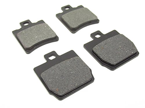 4x Bremsbeläge Bremsbacken vorne & hinten -Yamaha Aerox MBK Nitro 50 Bremsklötze **