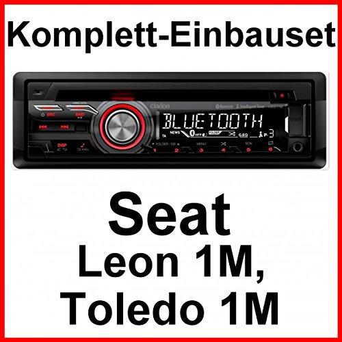 Komplett-Set Seat Leon 1M Toledo 1M Clarion CZ315E Autoradio USB AUX Bluetooth