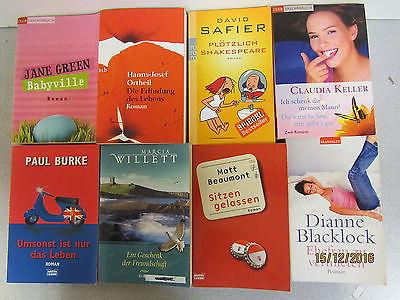 63  Bücher Taschenbücher Romane Top Titel Bestseller Paket 2