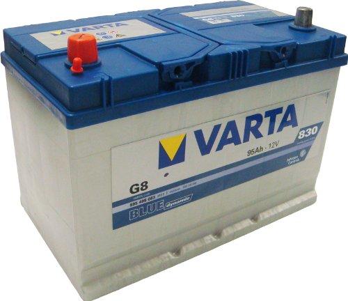 Varta 5954050833132 Starterbatterie in Spezial Transportverpackung und Auslaufschutz Stopfen (Preis inkl. EUR 7,50 Pfand)