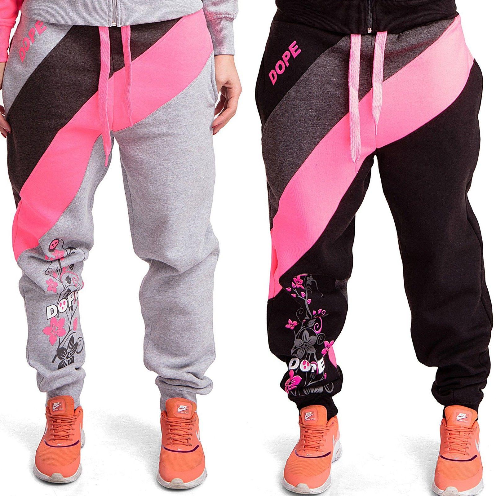 Damen Dope Fitnesshose Jogginghose Trainingshose Sporthose laufhose Sport Hose