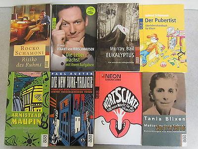125 Bücher Taschenbücher rororo Verlag