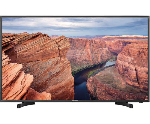 Hisense H49M2100S Full HD LED Fernseher 123 cm [49 Zoll] Schwarz
