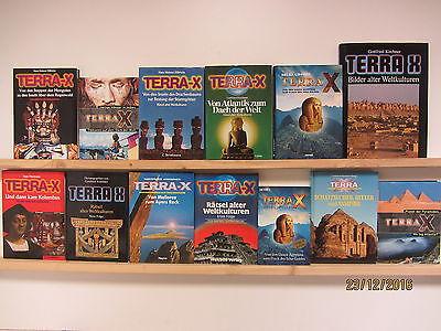 Terra X 13 Bücher Geschichte Kunst Kultur Weltgeschichte Kulturgeschichte