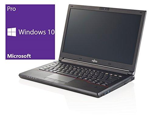 Fujitsu Lifebook E546 Notebook | 14,1 Zoll | Intel Core i3-6100U @ 2,3 GHz | 4GB DDR4 RAM | 128GB SSD | Windows 10 Pro vorinstalliert (Zertifiziert und Generalüberholt)