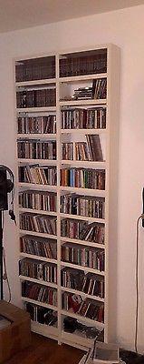 PA3# Aus Nachlass: Regal mit diversen CD's und Hörbüchern ca. 900 Stück
