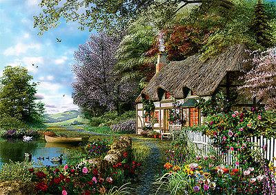 Trefl Puzzle 1000 Teile Ein gemütliches Eckchen (10297) Garten Haus
