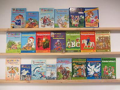 21 Bücher Kinderbücher Leselöwen Lesefant Schmökerbären u.a.