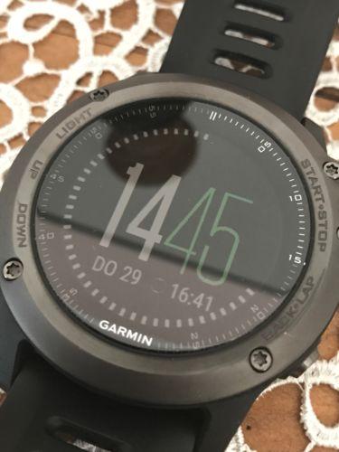 garmin fenix 3 Saphir mit HF Gurt für Laufen