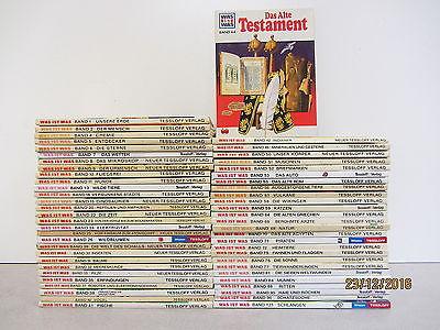 56 Bücher Was ist Was Kindersachbücher Jugendsachbücher keine doppelten