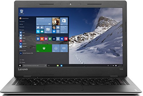 Lenovo ideadpad 100S-14IBR 35,6 cm (14 Zoll HD) Slim Notebook (Intel Celeron N3050 Prozessor, 2GB RAM, 32GB SSD, Windows 10 Home) silber