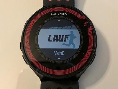 Garmin Forerunner 220 GPS Laufuhr mit 10 Stunden Laufzeit + Garmin Softbrustgurt