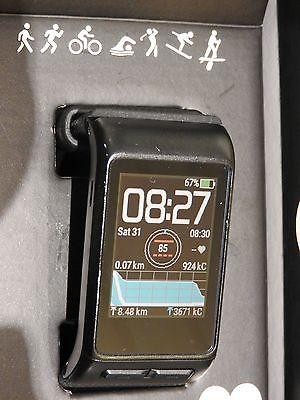 GARMIN VIVOACTIVE HR Schwarz,GPS Sportuhr mit Smartwatchfunktionen XL Armband