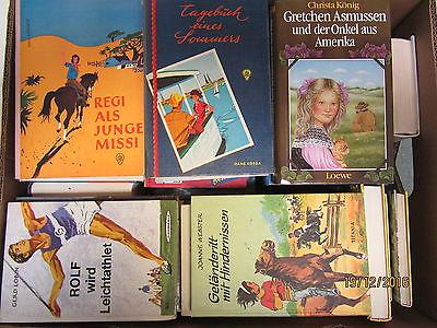 63  Bücher ältere Kinderbücher ältere Jugendbücher  Paket 1
